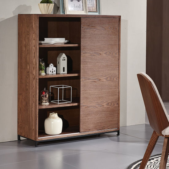 Classic Design Wooden Side Cabinet in Ash Solid Wood pictures & photos