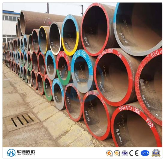 Carbon Steel BMS Black Mild Steel Seamless Pipe and Tube pictures & photos
