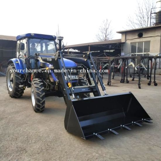 Africa Hot Sale Tz12D Heavy Duty Front End Loader with 2-2.4m Width Standard Bucket for 90-140HP Tractor pictures & photos