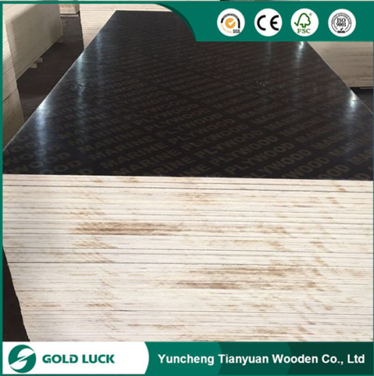 E1 Grade Melamine Building Concrete Panel Film Faced Plywood 1220X2440mm pictures & photos