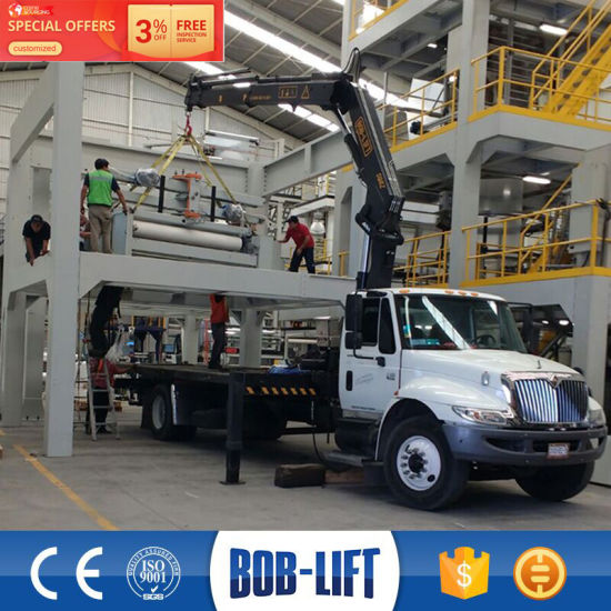 Mini Pickup Truck Crane and 8 Ton Used Crane Truck pictures & photos