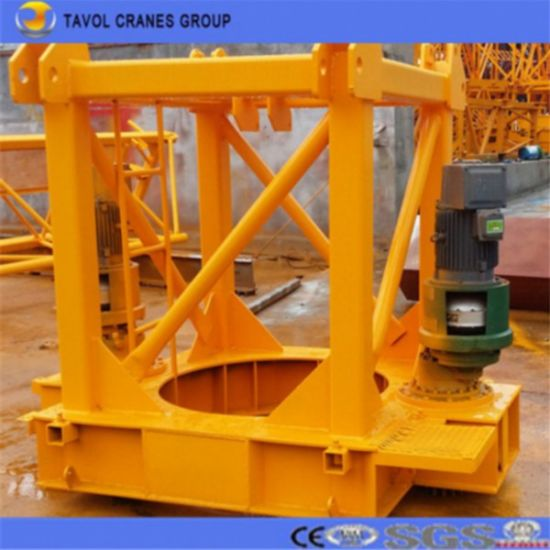 High Quality 50m Boom Load Topless Tower Crane pictures & photos