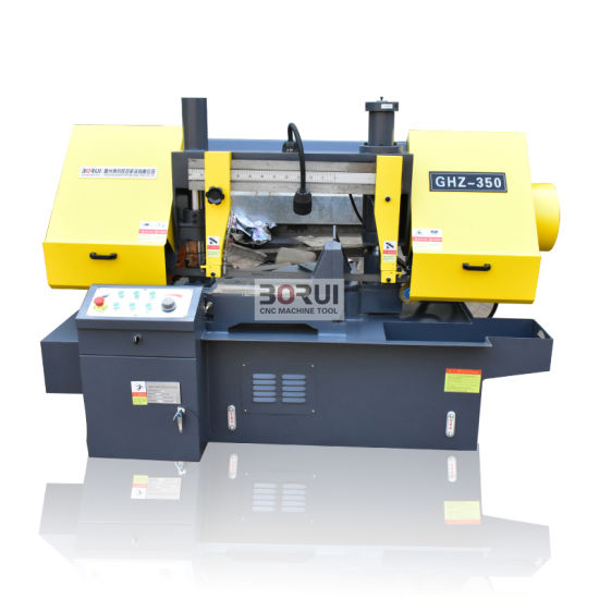GHz350 Double Column Band Saw Machine Horizontal Carbide Band Saw Blade Resaw Band Saws for Sale pictures & photos