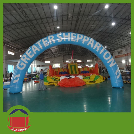 Yellow Color Inflatable Arch pictures & photos