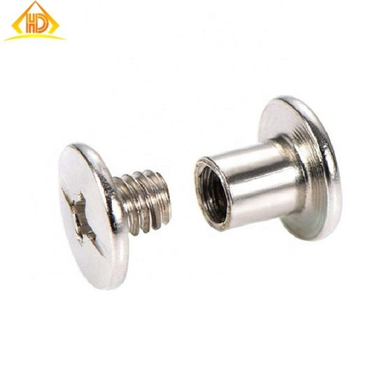 Flat Head Stainless Steel 304 M8 Cross Drive Chicago Screw pictures & photos