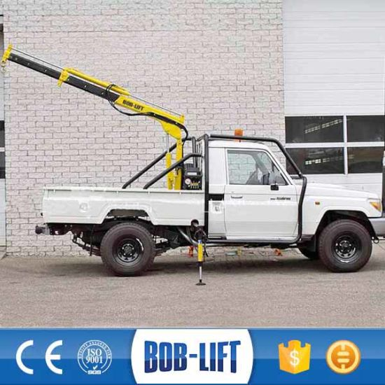 Mini Pickup Truck 1ton Small Crane for Sale pictures & photos