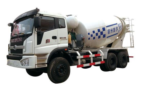 12 M3/H Transit Concrete Mixer Truck pictures & photos