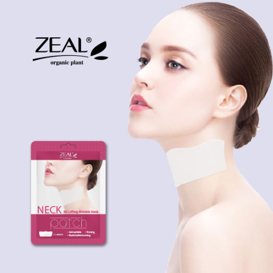 Neck Anti-Wrinkle Patch Lifting & Hydrating Neckline Mask Sheet pictures & photos