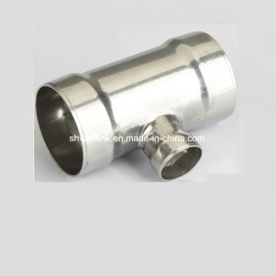 300 Series Socket Welded Reducing Tee for Cold Water pictures & photos