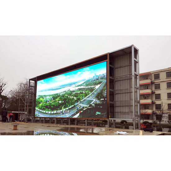 Outdoor P6 Full Color LED Display Screen pictures & photos
