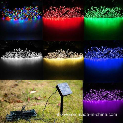 2016 Colorful LED Solar String Lights for Holiday Outdoor (RS1016-100) pictures & photos
