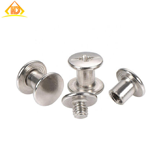 Rivet Head Binding Post Fastener Screws, Made-in-China pictures & photos