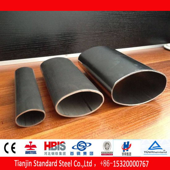 Stainless Steel Oval Pipe (304 316 316L 304L) pictures & photos