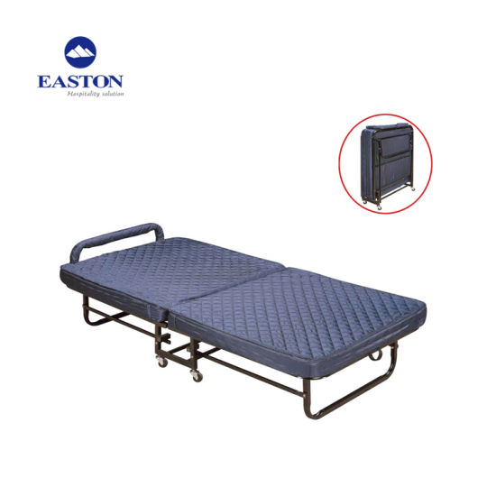 Blue Color Hotel Foldable Extra Bed pictures & photos