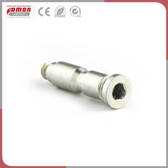 Customized Round Head Screw Stud Flange Wheel Bolt for Power Industrial pictures & photos