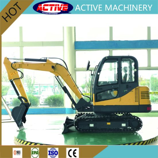 ACTIVE 4.5ton High Quality Excavator for Sale with Competetive Price pictures & photos
