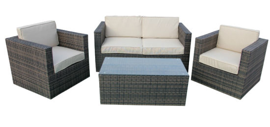 Conservatory Outdoor Wicker Sofa Furniture Set pictures & photos