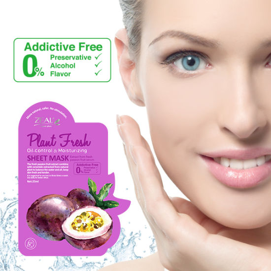 OEM Organic Oil-Control & Moisturizing Facial Sheet Mask pictures & photos