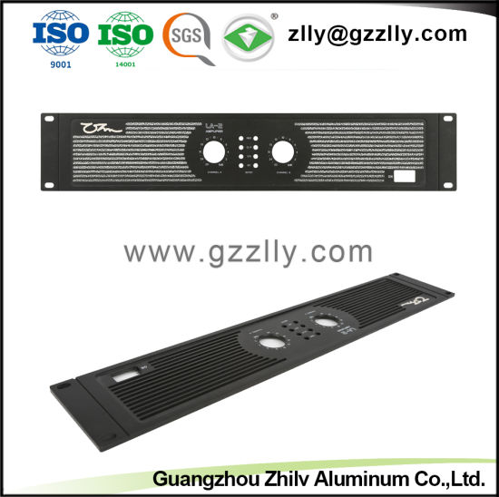 Anodized Aluminum Audio  Front Panel for Car Casting pictures & photos