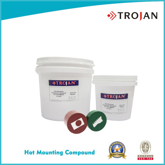 Hot Mounting Compound for Metallography Metal Sample Preparation pictures & photos