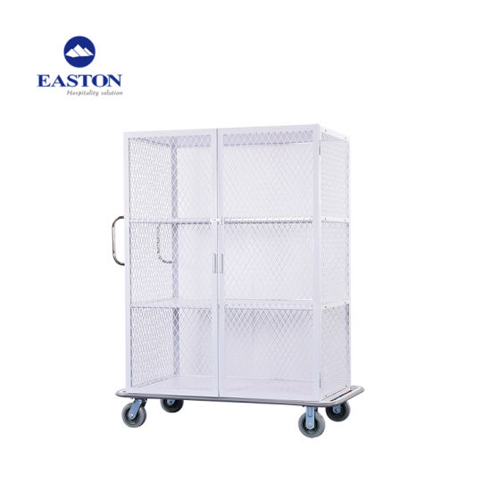 Hotel Metal Linen Trolley pictures & photos