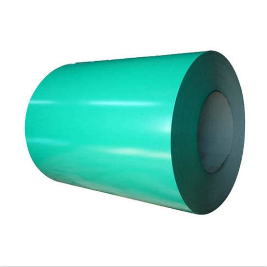High Quality PPGI Coils From Shanghai of Green Colour pictures & photos