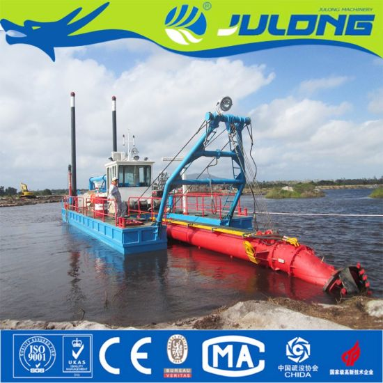 Julong Best Selling Cutter Suction Ships/Sand Dredger/Dredger for Sale pictures & photos