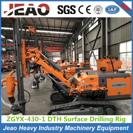 Factory Price! ! ! Crawler Hydraulic DTH Blast Hole Mining Drilling Rig for Quarry pictures & photos