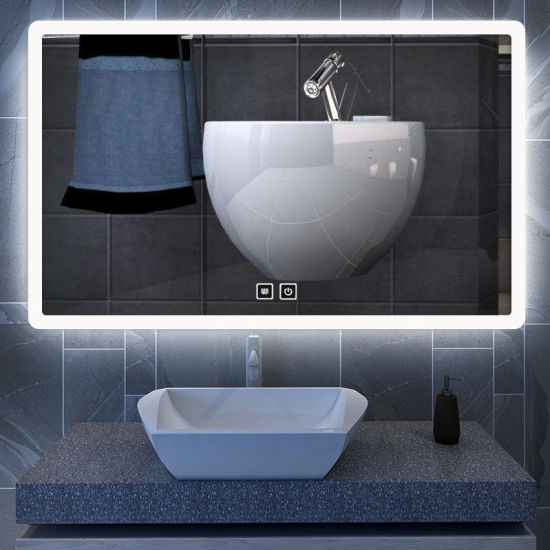 LED Bluetooth Smart Illuminated Bathroom Mirror pictures & photos
