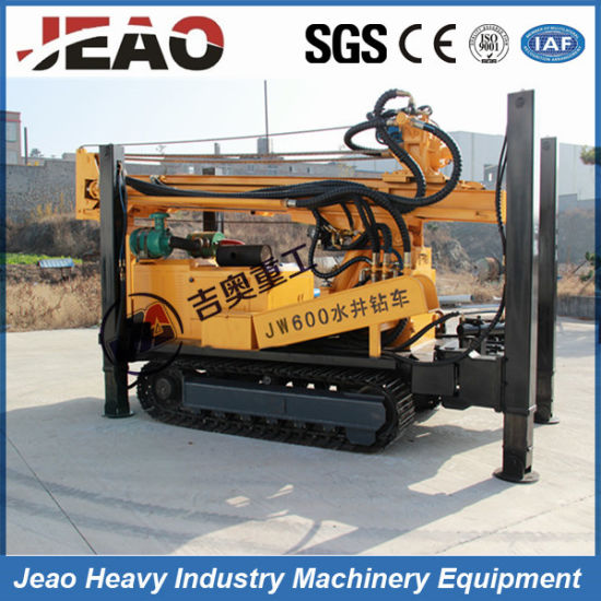 Drill Big Well Hole 600m Deep Multifunctional Hydraulic Crawler Drill Well Rigs pictures & photos