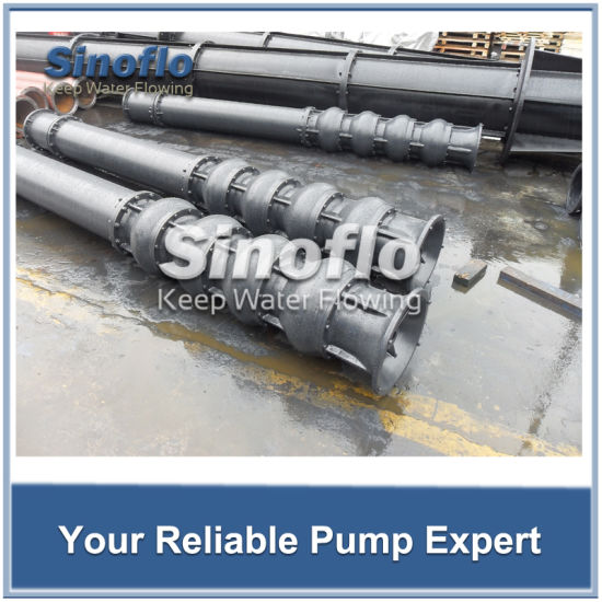 Long shaft Overhung Vertical Turbine Spindle Trash Pump pictures & photos