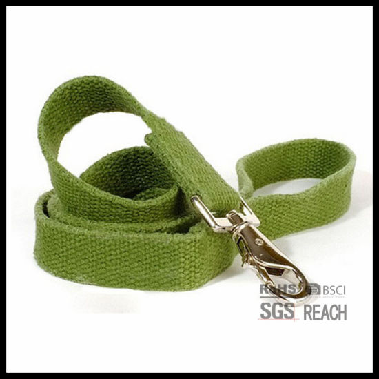 Eco-Friendly Green Pet Dog Leash Bamboo Cotton Fabric pictures & photos