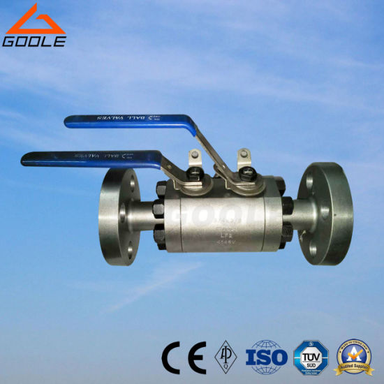 Forged Steel Double Block and Bleed Dbb Ball Valve (DBBQ41F) pictures & photos
