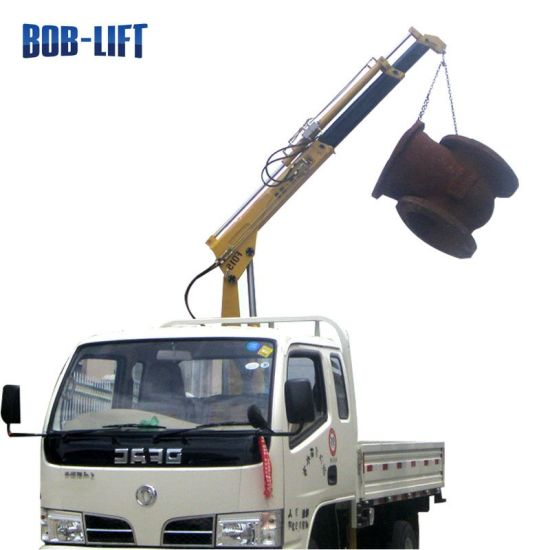 Mobile Folding Arm Mini Crane Truck with Good Price pictures & photos