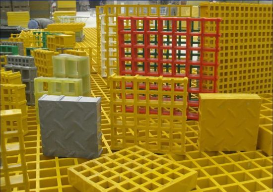 FRP/GRP Anti-Fire Moulded Gratings pictures & photos