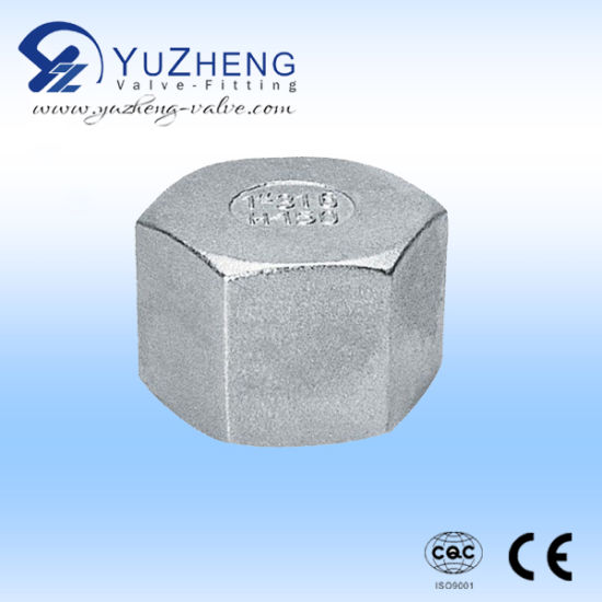 Stainless Steel Industrial Thread Hex Cap pictures & photos