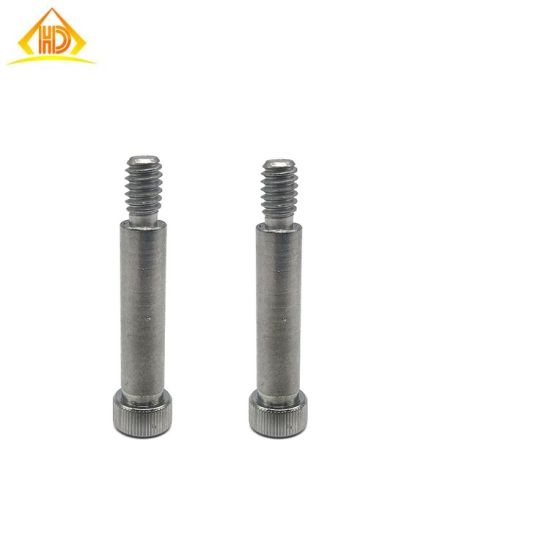 Stainless Steel High Precision M6 Socket Knurled Head Shoulder Screws pictures & photos
