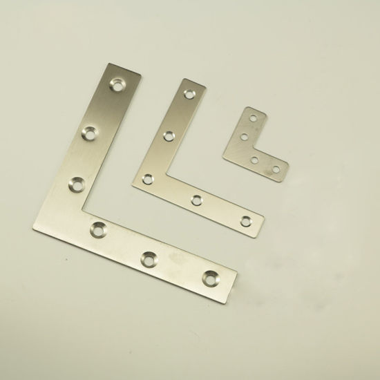 Metal Merging Square Zinc Plated Wood Connector pictures & photos