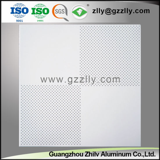 Hot Selling Perforated Spray Powder Ceiling with Four Angle Punching pictures & photos