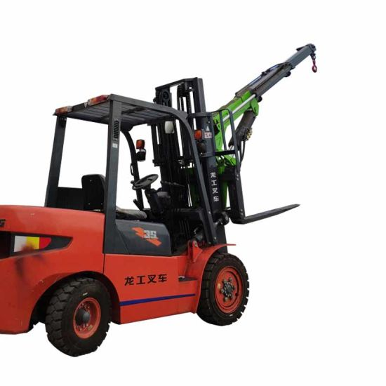 Stability Forklift Lift Jib Fork Crane pictures & photos