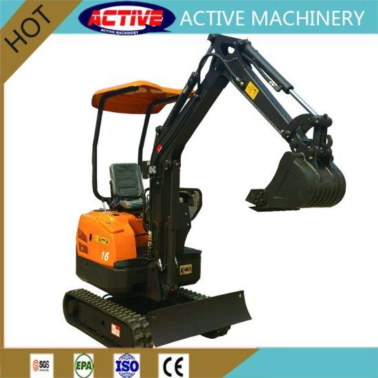 New Model AL8015 1.4ton Mini Excavator with Yanmar EPA3&EPA4 Engine pictures & photos