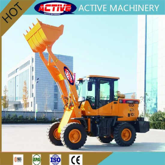 AL910C 1ton Hot Sale articulated mini Loader with factory Price pictures & photos
