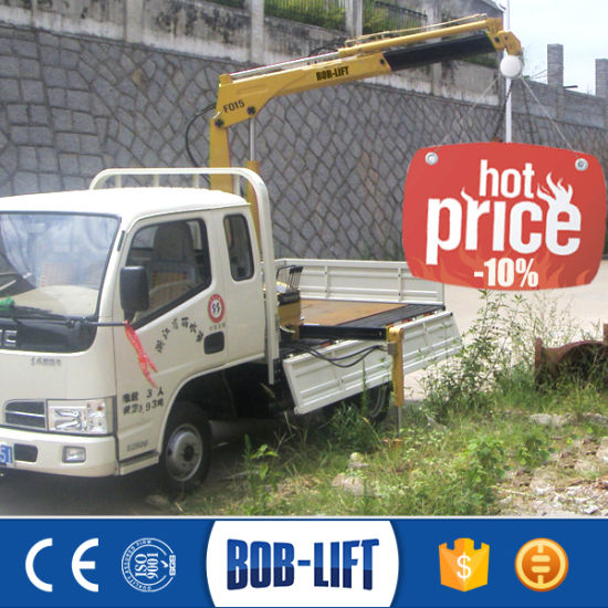 Truck Mounted 1.5 Ton Crane Manufacturer pictures & photos