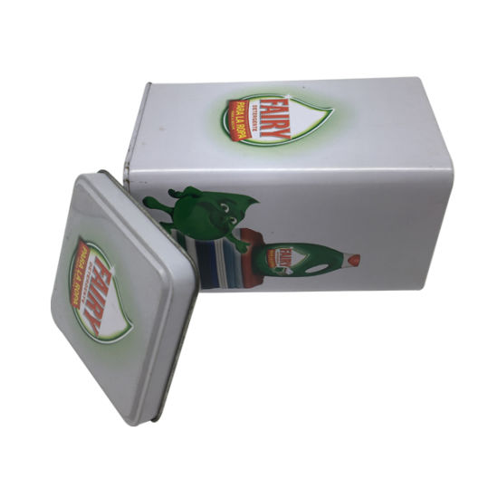 Square Shape Tin Box Custom Printing Metal Tinplate for Packaging pictures & photos