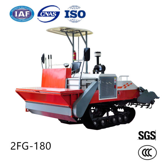Self-Propelled Crawler Rotary Cultivator Weeding Ploughing Machinery pictures & photos