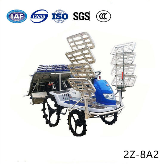 8 Rows Automatic Farm Rice Seedling Transplanter pictures & photos