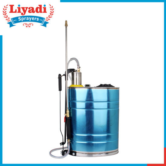 16L Stainless Steel Agricultural Manual Pressure Sprayer pictures & photos