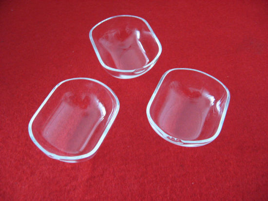 Customized High Purity Clear Quartz Wafer Carrier Quartz Boat pictures & photos
