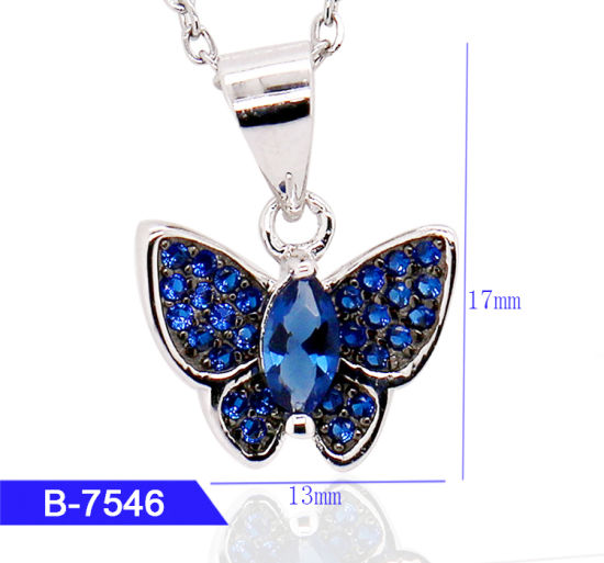 Wholesale New Arrival Women′s Fashion Jewelry 925 Sterling Silver Cubic Zirconia Pendant pictures & photos