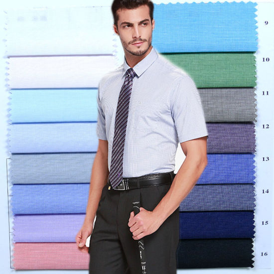 100%Polyester Printed Shirt Fabric and Uniform Fabric pictures & photos